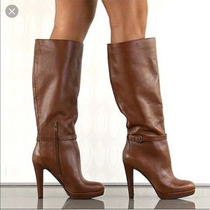 Jessica Simpson Khalsa Boots in Whiskey